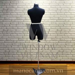 Manocanh Bán Thân Ghim Kim Nữ – Size M