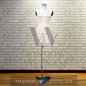 Manocanh Bán Thân Ghim Kim Nữ – Size S