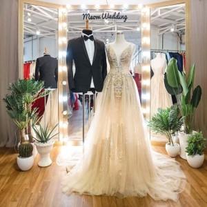 Manocanh Trang Trí Đồ Vest Đầm Cưới 2019 ASR92