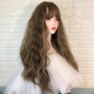 Manocanh nữ tóc dài trang điểm nữa người ASR34