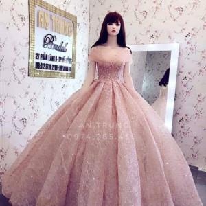Manocanh áo cưới tóc dài ASR30
