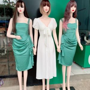 Manocanh Nữ Trang Điểm Tay Xuôi Tóc Ngắn ,Dài Nhiều Mẫu Tạo Kiểu ASR143